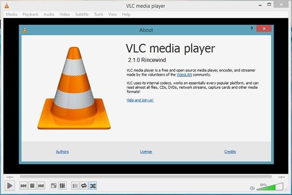 VLC là ứng dụng âm thanh có hỗ trợ tính năng quay màn hình hiệu quả